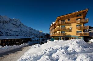 Luxusní hotel Delle Alpi - Passo Tonale